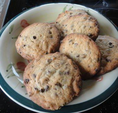Cookies aux pépites de chocolat et noix de pécan / Cookies a las pepitas de chocolate y pecana