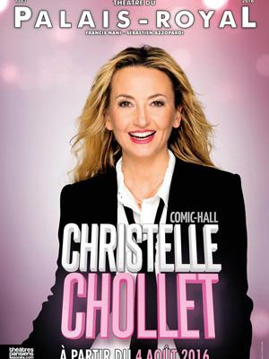 Christelle Chollet fait son Comic-Hall au théâtre du Palais Royal !