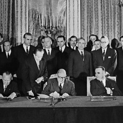 Le traité de l'Élysée à 55 ans! (touteleurope.eu - vidéo INA)
