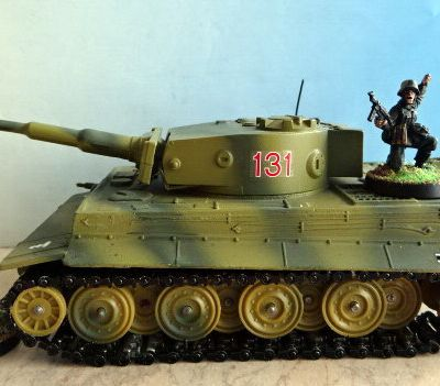 WWII Véhicules allemands (char Panzer Tigre I)