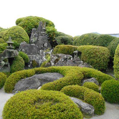 Ibusuki (1) ... Dans la péninsule de Satsuma : à Chiran, les jardins des samourais