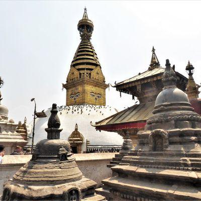 Katmandou (8) ... Au sud-ouest de Katmandou : Swayambhunath et l'UNESCO