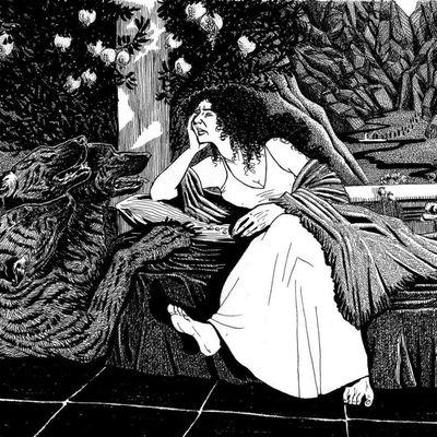 *mythologie* - Perséphone s'ennuie...