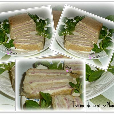 Terrine croque monsieur (+ idée menu)