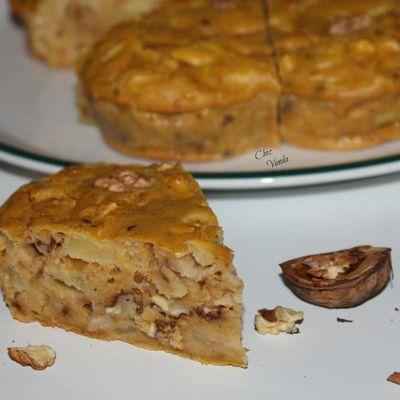 Brownie potiron pomme noix