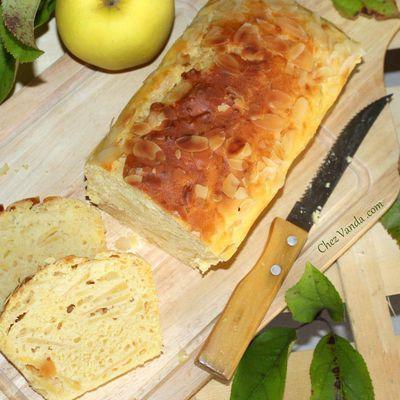 Cake aux pommes et aux amandes