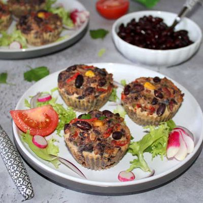 Muffins mexicains  ( 2 versions)