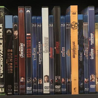 Mon ordre des films Marvel