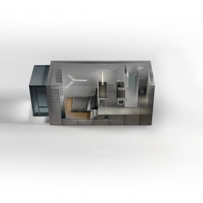 Smart, affordable & energy-efficient 352 sq. ft. prefab Kasita is now in production