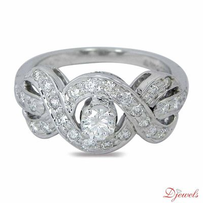 Diamond Solitaire Engagement Ring Berryhunter