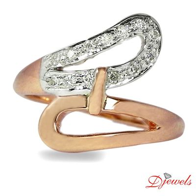 Naturl Diamond Ring in 14K Hm Gold