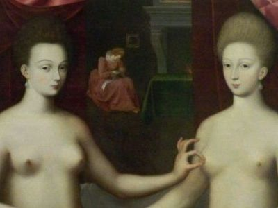 Gabrielle d'Estrée et une de ses sœurs