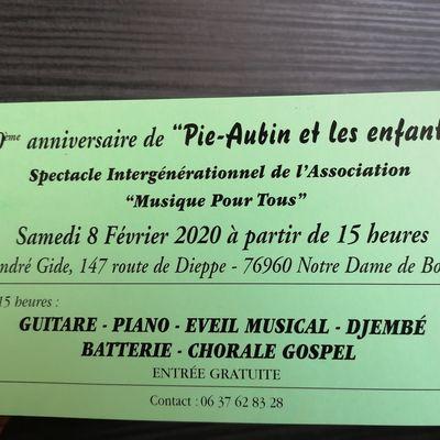 """30 ans du Spectacle """"Pie-Aubin et les enfants"""" !"""