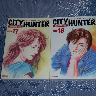City Hunter Deluxe édition - Tomes 17 & 18