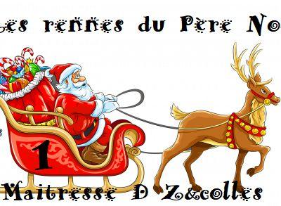 Jeu : Les rennes du Père Noël