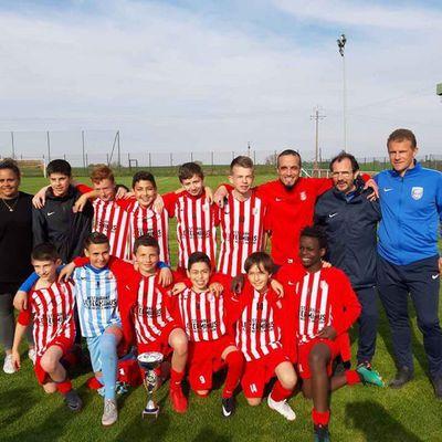 Les U13 de l'AS Ludres sont Champions du District de Meurthe-et-Moselle