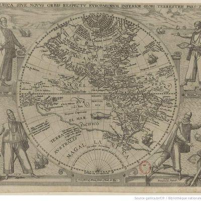 Encore une carte : outre-Atlantique