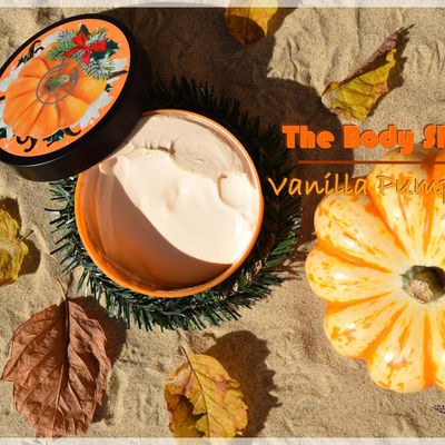 Un Bonbon ou un Sort avec Vanilla Pumpkin de chez The Body Shop