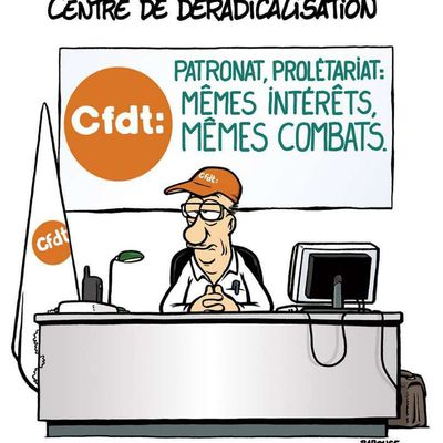 ★ 50 ans de CFDT : de l'autogestion à la collaboration de classes