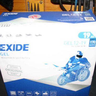 Batería  EIXIDE BMW 12-19 GEL