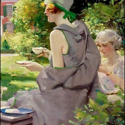 Femmes à chapeau par les grands peintres (327)