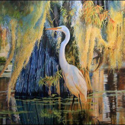 Oiseaux en peinture - Mickey et Milo Asche
