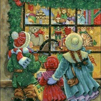 Enfants et Noël par les peintres - Donna Race