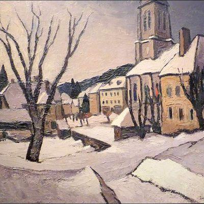 La Franche-Comté peinte par Gaston Robbe (1900-1954)