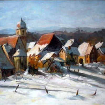 La Franche-Comté peinte Georges Mathieu (1939)