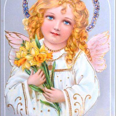 Vintage cartes illustrées Pâques