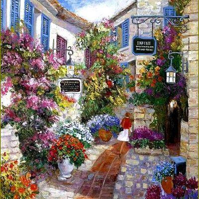 Paysages et jardins romantiques en peinture -  Soo Cha Griffith