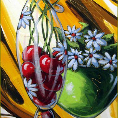 Le temps des cerises par les peintres -  Daniel Vincent - Seulement nous deux