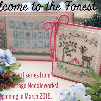 Welcome to the Forest. Country Cottage Needleworks