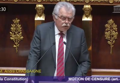Motion de censure du Gouvernement - Intervention