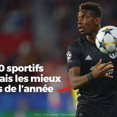 Les 50 sportifs français les mieux payés de l'année #classement