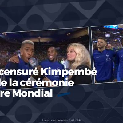 M6 a censuré Kimpembé lors de la cérémonie du titre Mondial #Kimpembé