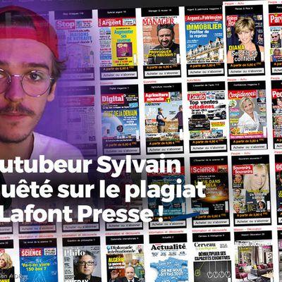 Le Youtubeur Sylvain a enquêté sur le plagiat chez Lafont Presse ! #enquête
