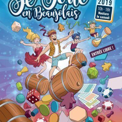 """Festival """"Je joue en Beaujolais"""" à Saint jean d'Ardières les 2 et 3 novembre"""