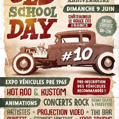 old school day à Chateauneuf Le Rouge