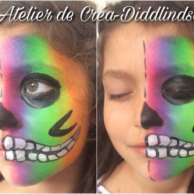 Grimages ,  de nouveau maquillage sur le thème Halloween