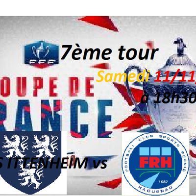 Coupe de France 7ème tour: L'US Ittenheim croit en ses chances contre le FR Haguenau