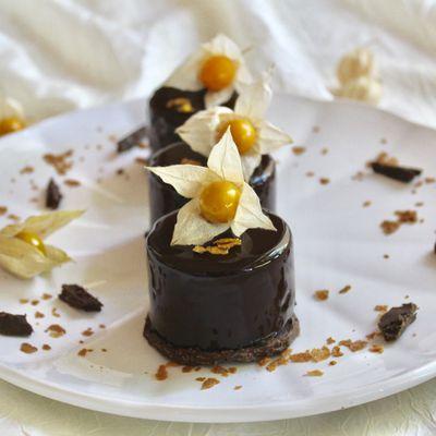 Délice fondant et croustillant au chocolat