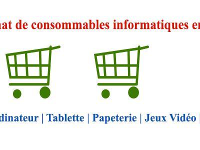 Achat de consommables informatiques en ligne