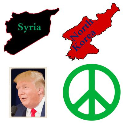 Global peace instead of World-War-3, Mr. Trump!