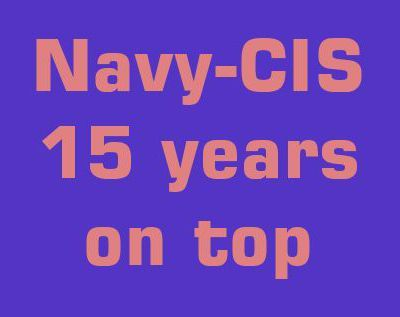 15 years Navy-CIS, the most successful TV-series in the world