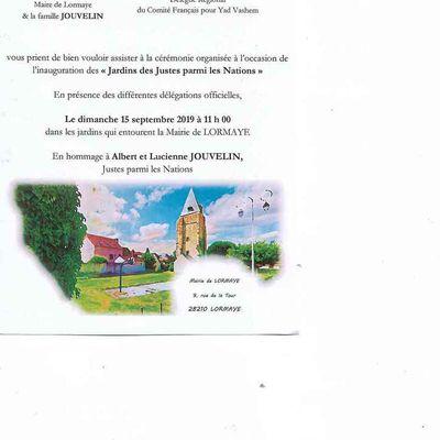 Grâce à mon blog La Piste de Lormaye...
