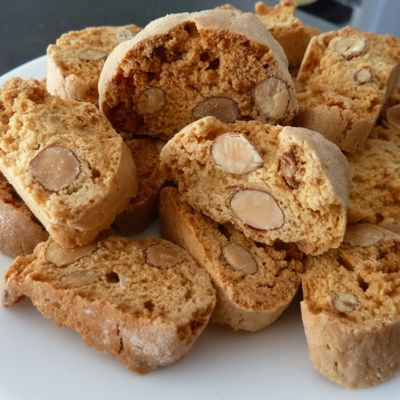 Biscuits Cantuccini aux amandes excellentissimes