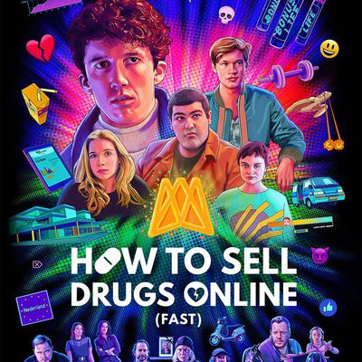How to Sell Drugs Online (Fast) (Saison 2, 6 épisodes) : la drogue c'est (presque) cool