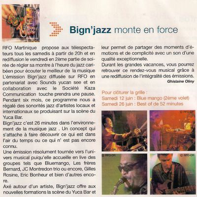 Big'n Jazz Magazine TV