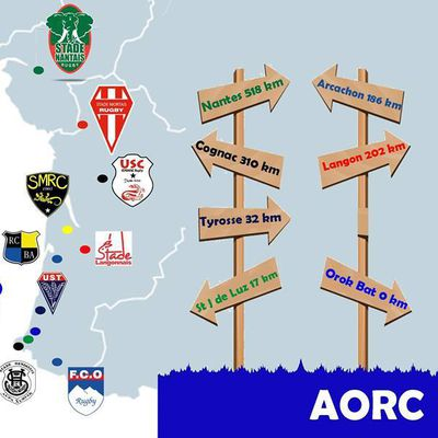 CARTE DES CLUBS: